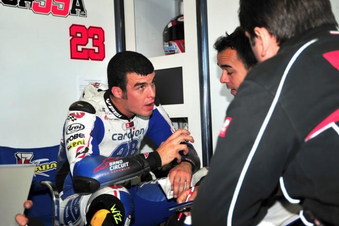 Luca Scassa dokonèil závod ve Valencii osmnáctý
