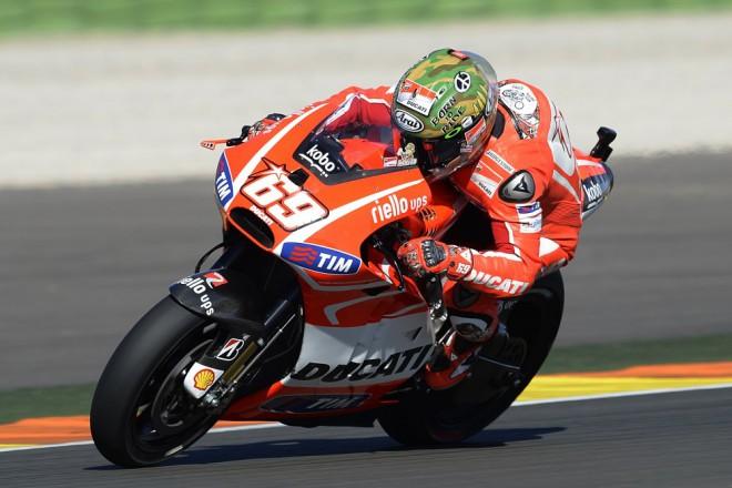 Hayden: Poslední závod s Ducati