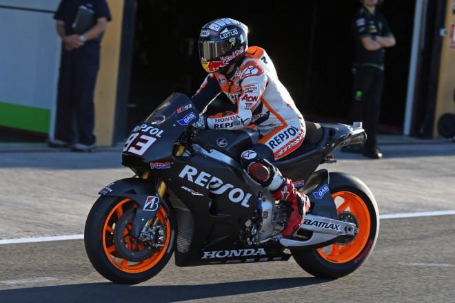 Test MotoGP – støeda