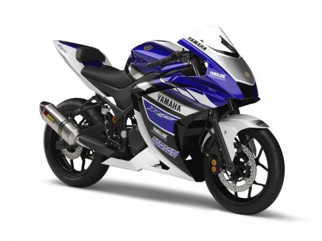 Yamaha R25 koneènì odhalena