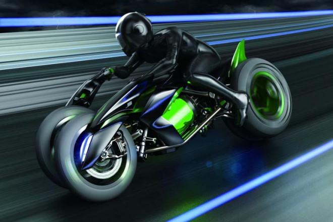 Kawasaki koncept J - zelená vize budoucnosti
