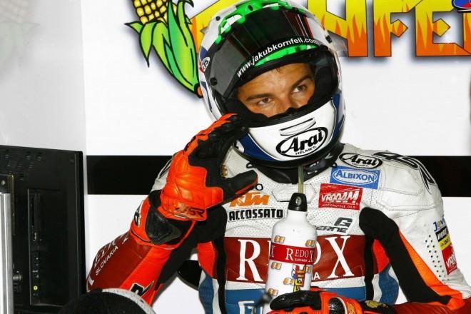První test Jakuba Kornfeila s KTM
