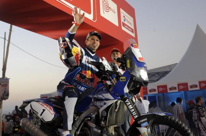 Cyril Despres na Dakaru poprvé v sedle Yamahy