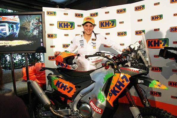 Laia Sanz pøedstavila tým pro Dakar