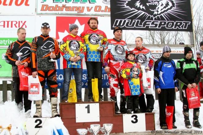 Orlický pohár 2014 - motoskijöring pro jezdce bez licencí
