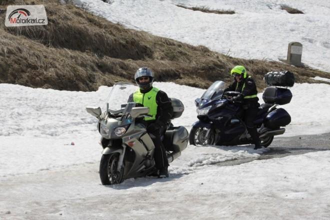 Pøes Mont Blanc na Rivieru aneb jarní  La Route des Grandes Alpes