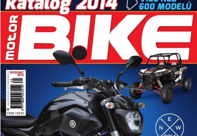 Motorbike katalog motocyklù, skútrù a ètyøkolek 2014