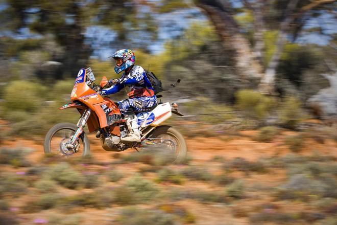 Grabham pojede Dakar 8 m�s�c� po t�k�m �razu