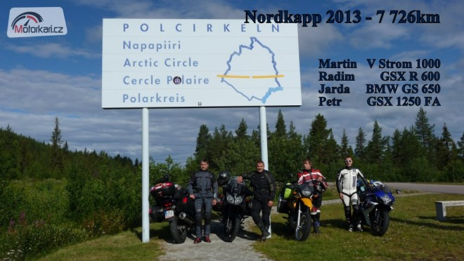 Nordkapp 2013. Jak jsme se dostali do norských novin.