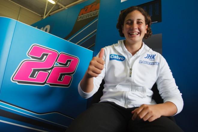 Ana Carrasco: Cílem je MotoGP