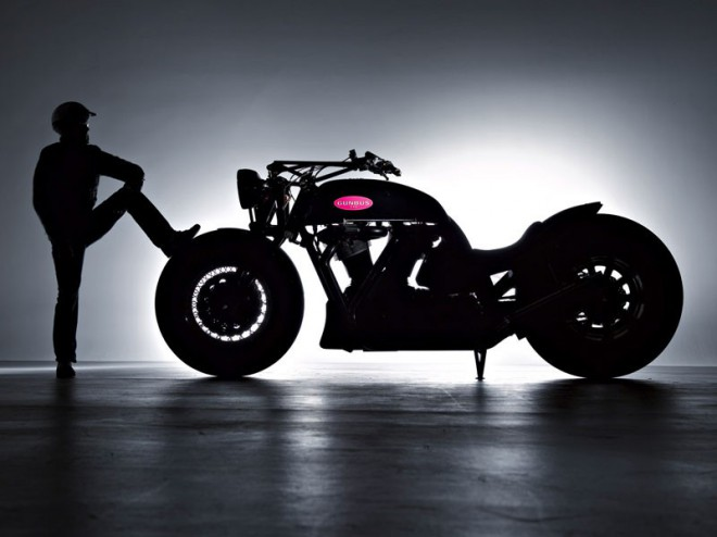 Obøí motocykl Gunbus 410