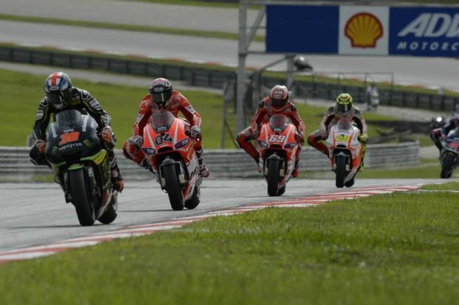 MotoGP: Startovní rošt 2014