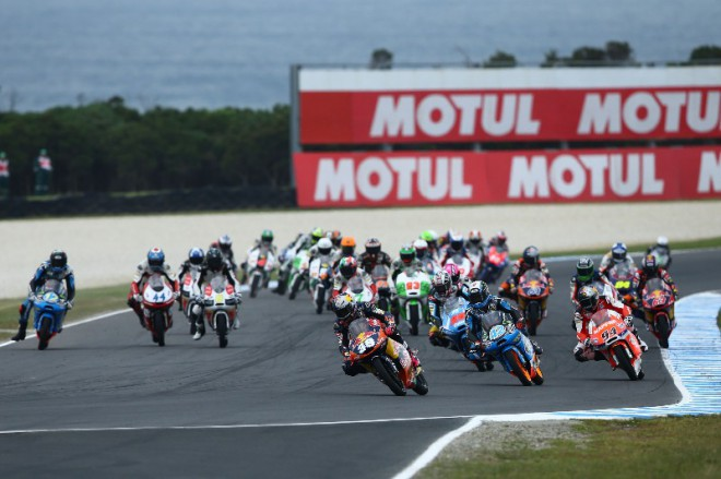 Moto3: Startovní rošt 2014