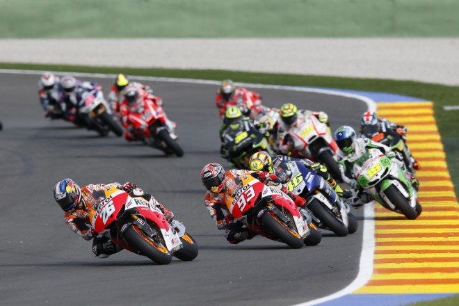Testovací program královské MotoGP