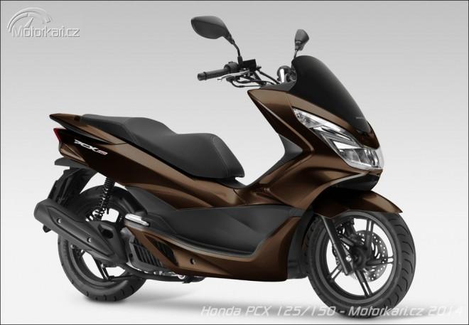 Honda modernizuje skútry PCX 125 a 150