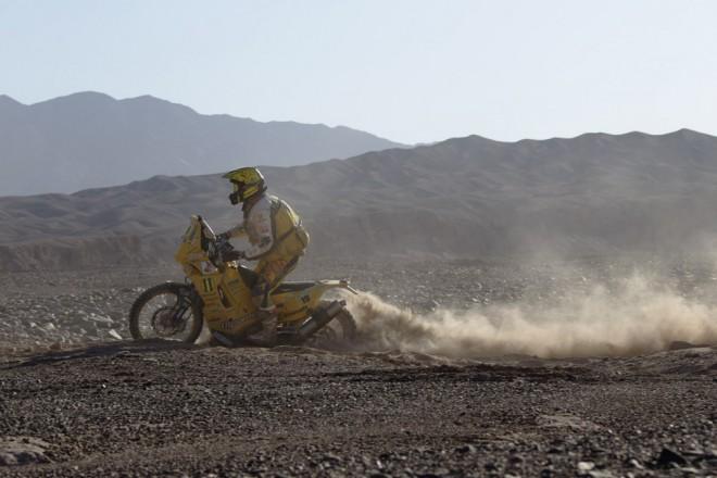 Pabiška: Byl jsem èastìji v písku než na motorce