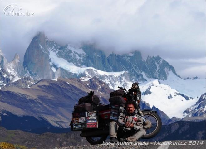 Jawa kolem svìta, díl 13.- Argentinou a Chile po RN40 a Carretera Austral