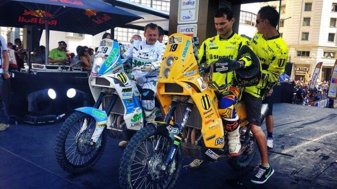 SP Moto se louèí s Dakarem 2014