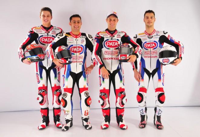 Pata Honda pøedstavila tým v italské Veronì