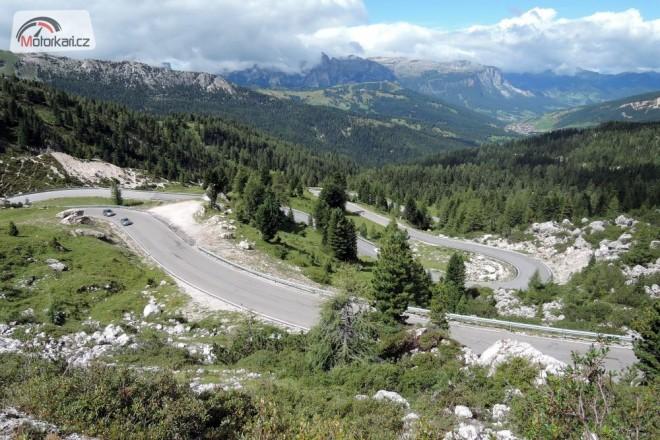 Dolomity 2013, vysokohorské silnice
