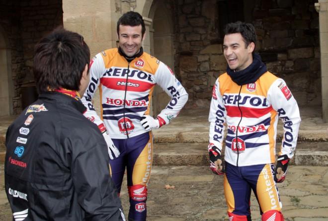 Repsol Honda na trialových motocyklech