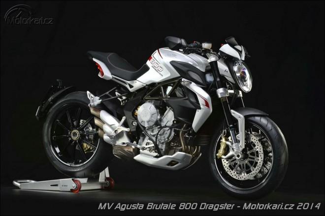 MV Agusta Brutale 800 Dragster - první foto