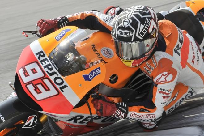 Márquez je nejrychlejším jezdcem testu MotoGP