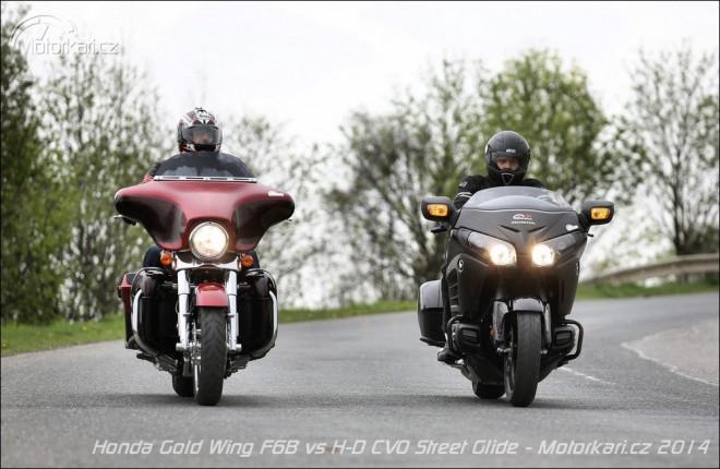 Honda Gold Wing F6B & Harley-Davidson CVO Street Glide