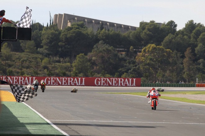 Test Moto2 Valencie – den první