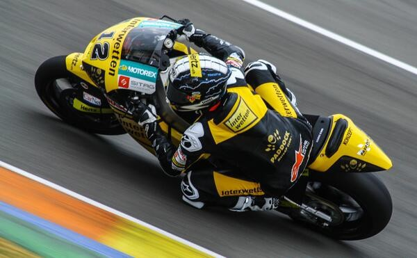 Test Moto2 Valencie – den druhý