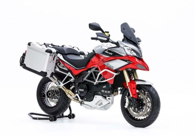 """Multistrada """"Toubkal"""" od Affeto Ducati"""
