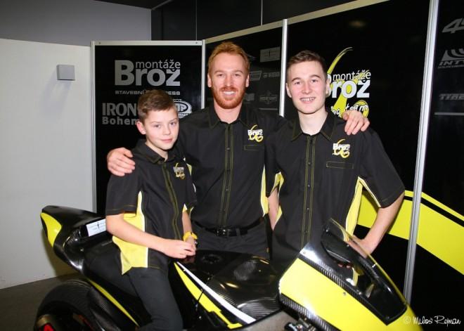 Prezentace týmu Montáže Brož Racing