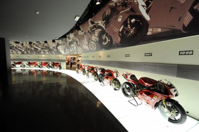Ducati muzeum se otevírá virtuálním návštìvníkùm
