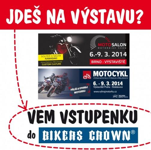 Chystáš se na výstavu Motosalon nebo Motocykl?