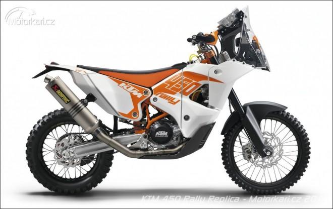 KTM nabídne 450 Rally repliku