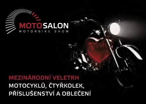 Vyhrajte vstupenky na výstavu Motosalon