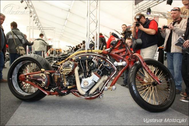 Blíží se výstava Motocykl a pøehlídka staveb Bohemian Custom Bike