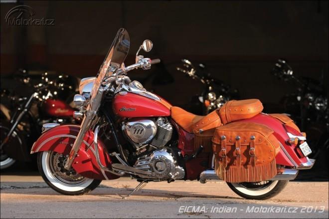 Indian Motorcycle 2014 - znovuzrození velké legendy