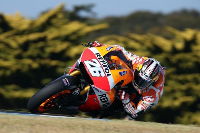 V pond�l� byl z jezdc� MotoGP nejpiln�j�� Pedrosa