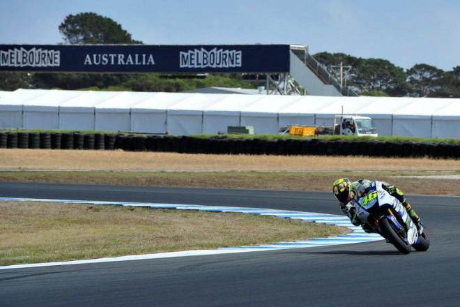 Test MotoGP Austrálie – den tøetí