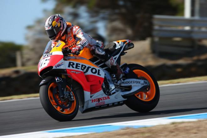 V Austrálii byl Pedrosa druhý nejrychlejší