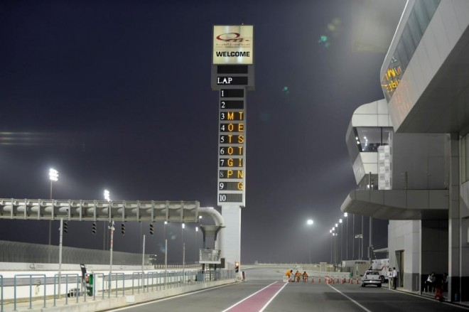 Test MotoGP Katar – den první