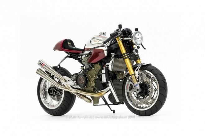Café racer z Ducati 1199 Panigale S