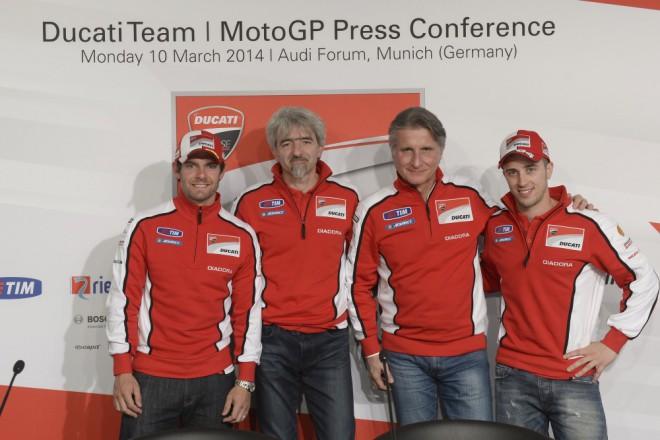 V Mnichovì pøedstavila Ducati tým MotoGP