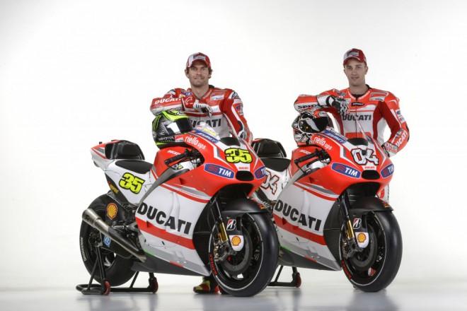 Ducati v èervenobílé kombinaci 2014