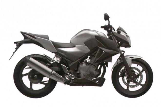 Honda CBR300R také bez kapot