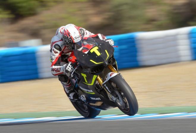 Ježek testoval v Aragonii s Barni Racing