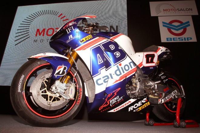 MotoGP a Moto3 na Motosalonu v Brnì