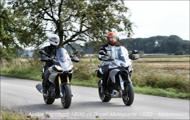Aprilia Caponord 1200 Travel ADD & Ducati Multistrada 1200S