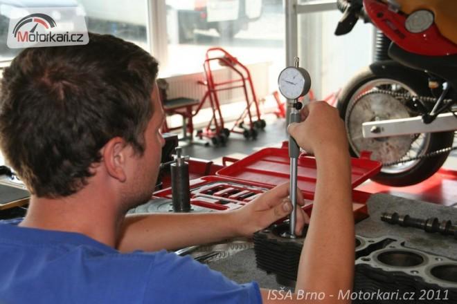 Poslední místa na motomechanika a motodiagnostika v Brnì